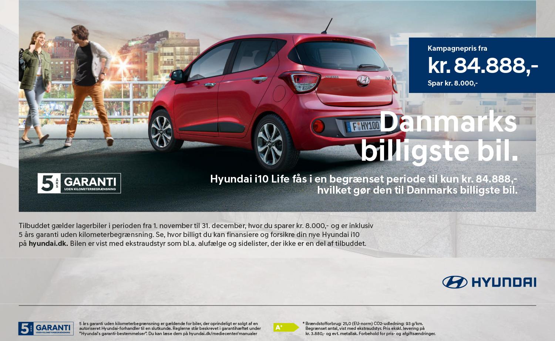 Danmarks billigste bil