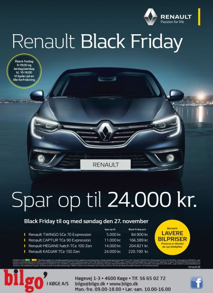 Renault Black Friday