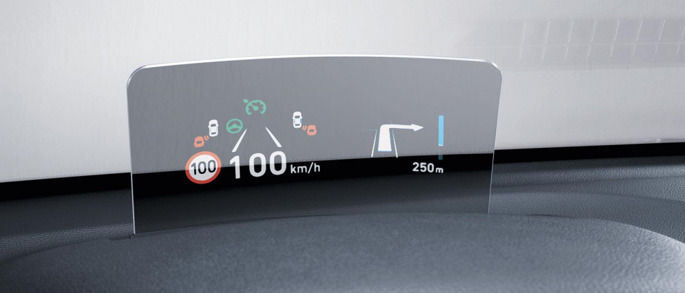 "Sådan fungerer ""Head-Up Display"""